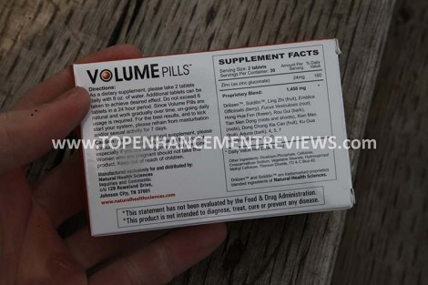 Volume Pills Review